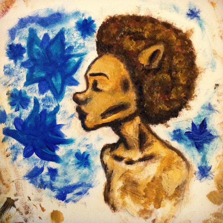 Little lion woman by TheRainbowlum