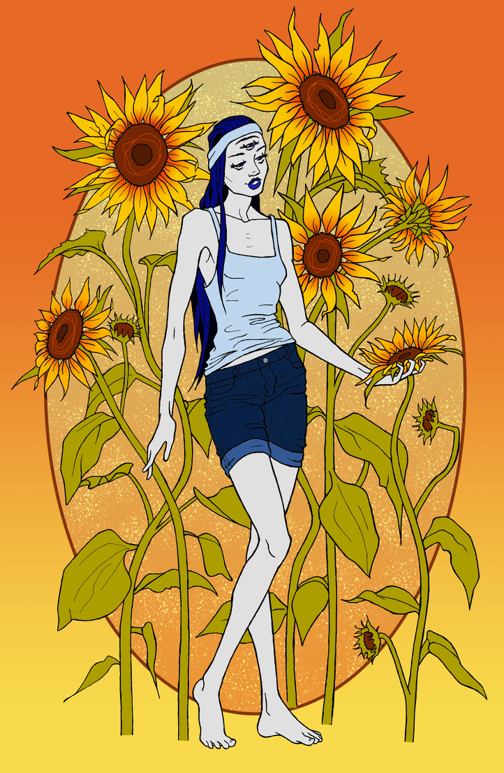 Blue Summer by TheRainbowlum