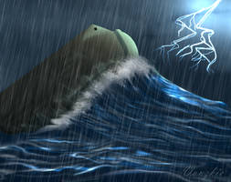In the Storm by Vanzkie