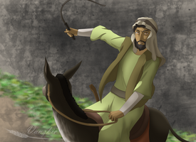 Balaam's Donkey by Vanzkie