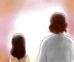 Valentines: Jesus and  Girl by Vanzkie