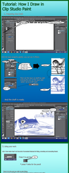 Clip Studio Paint Tutorial by Vanzkie