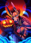 YCH: My pumpkin friend