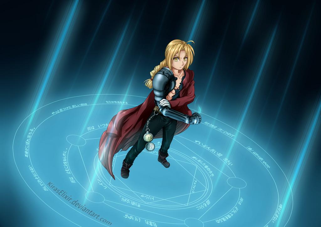 Edward Elric by KirasElixir