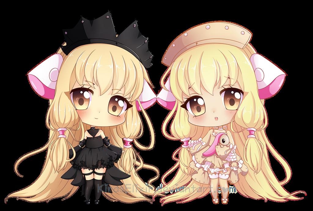Chobits Chii And Freya