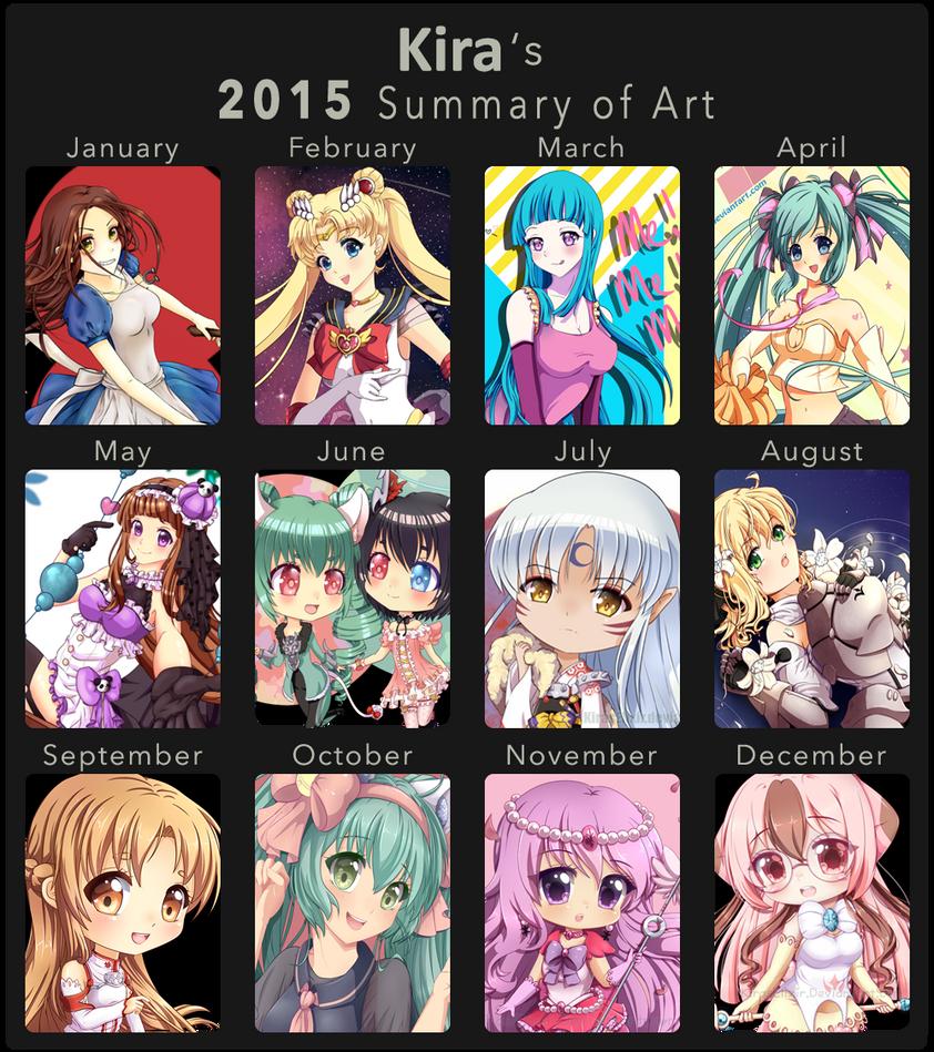 2015 Art Summary by KirasElixir