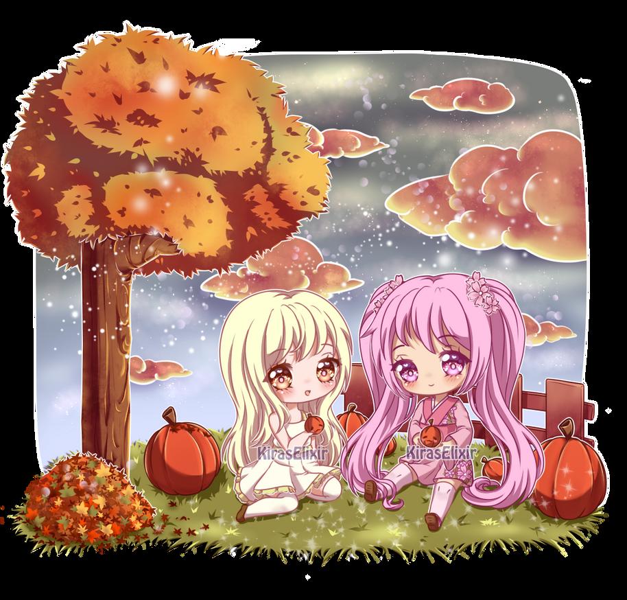 C: Pumpkin Picking by KirasElixir