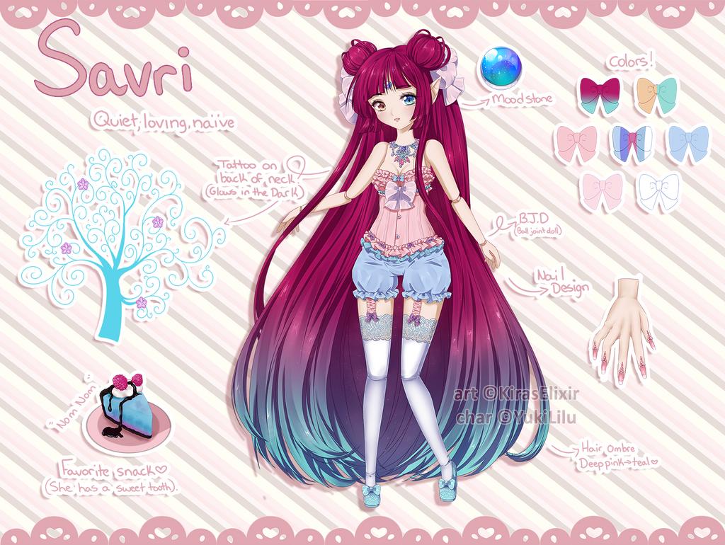 Custom Design: Savri by KirasElixir