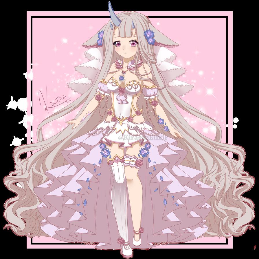OC: Galatea by KirasElixir