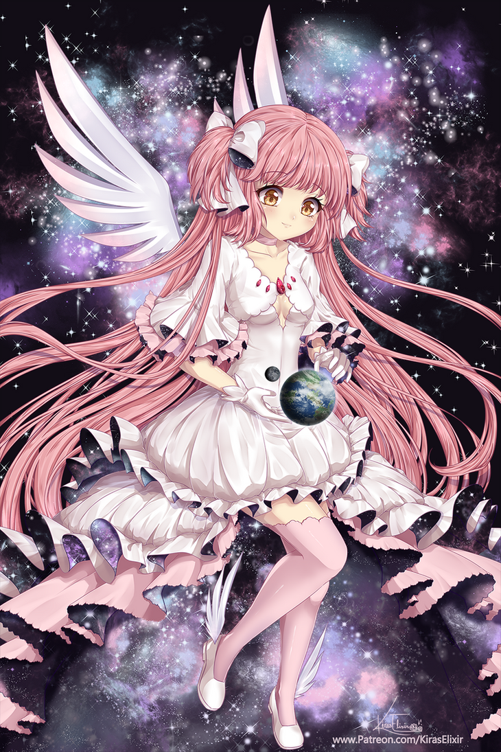 FA: Goddess Madoka by KirasElixir