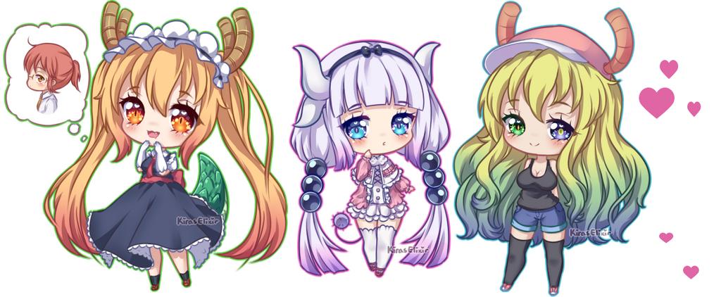 FA: Tiny Dragons by KirasElixir