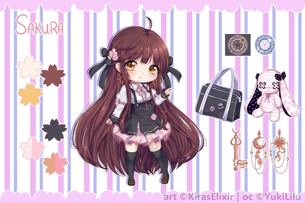 Custom Design: Sakura by KirasElixir