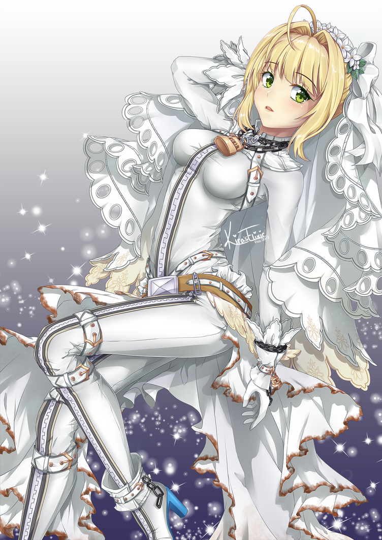 FA: Saber Bride by KirasElixir