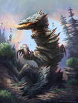 Samarium Dragon by MIKECORRIERO