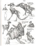 Biped Evosaurs Sketchbook by MIKECORRIERO