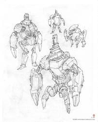 Robots Bobots by MIKECORRIERO