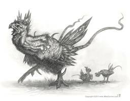 Codopraya - Bird Concept by MIKECORRIERO