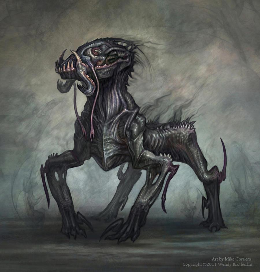 Shadow Walker Final 02 by MIKECORRIERO
