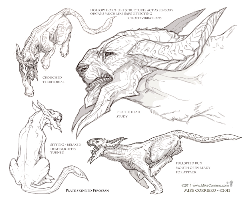 how to draw trico the last guardian step by step