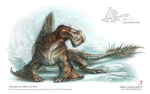 Barucarus - ( Otaridiear Raptor ) by MIKECORRIERO