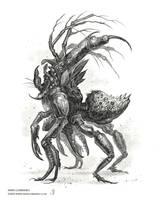 Ambush Death Stinger (Insidias mors Punctum) by MIKECORRIERO