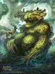 Quiescent Greenman Regular Legend of the Cryptids