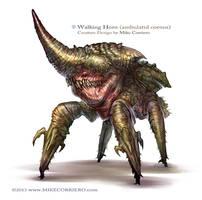 Walking Horn (Ambulatid cornus)