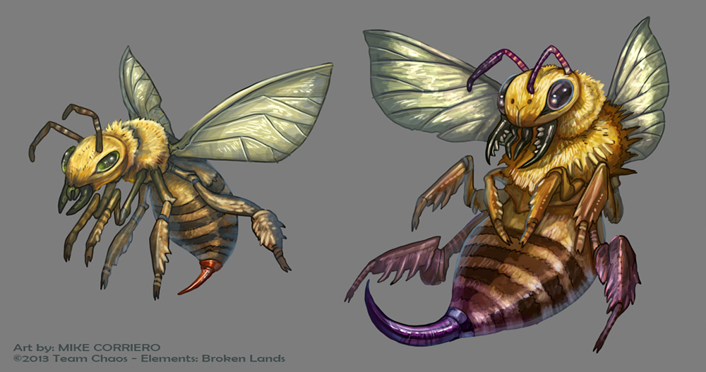 Bee Minion by MIKECORRIERO