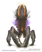 Beacon Crab - Demons and Deities by MIKECORRIERO