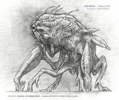Hexes-Alien-03 by MIKECORRIERO