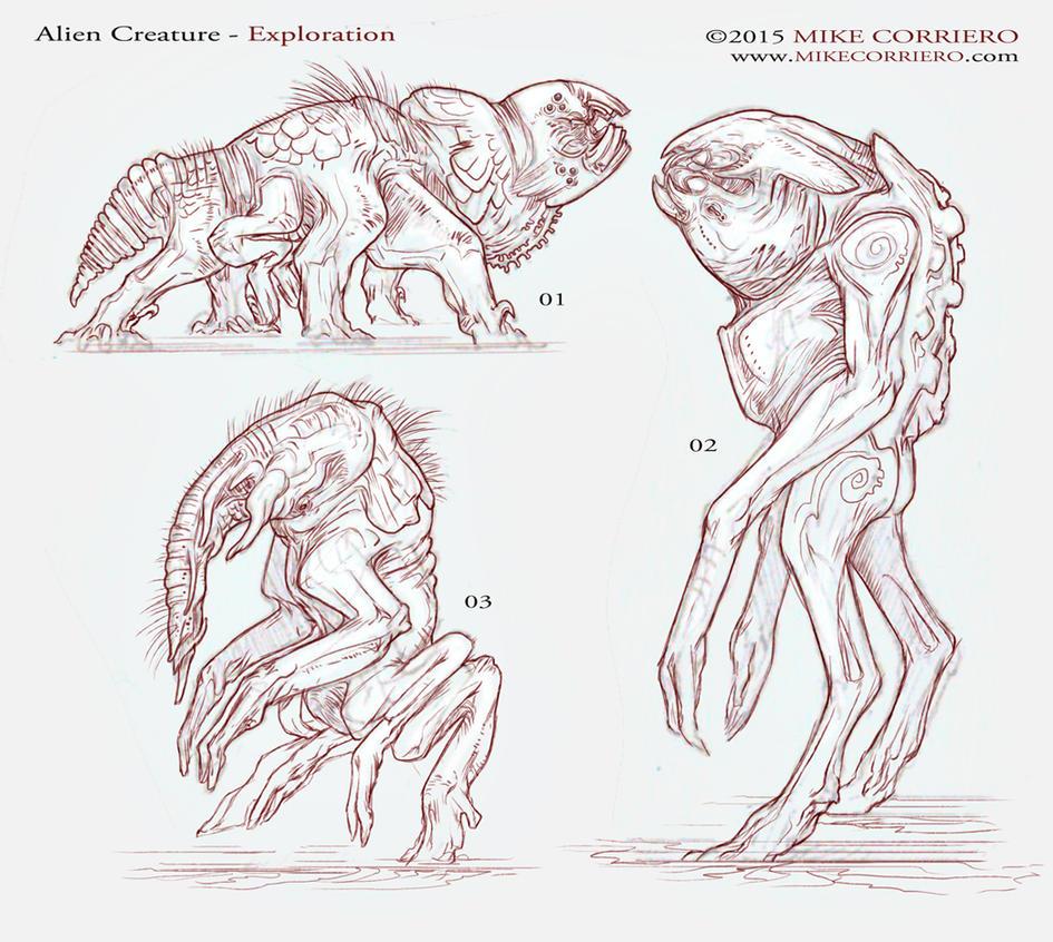 Alien Thumb exploration by MIKECORRIERO