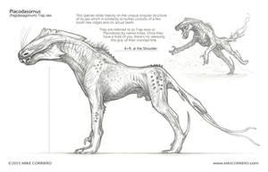 Trap Jaw Creature Design - Profile by MIKECORRIERO