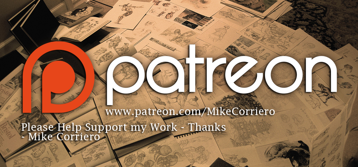 Launched my Patreon Page by MIKECORRIERO