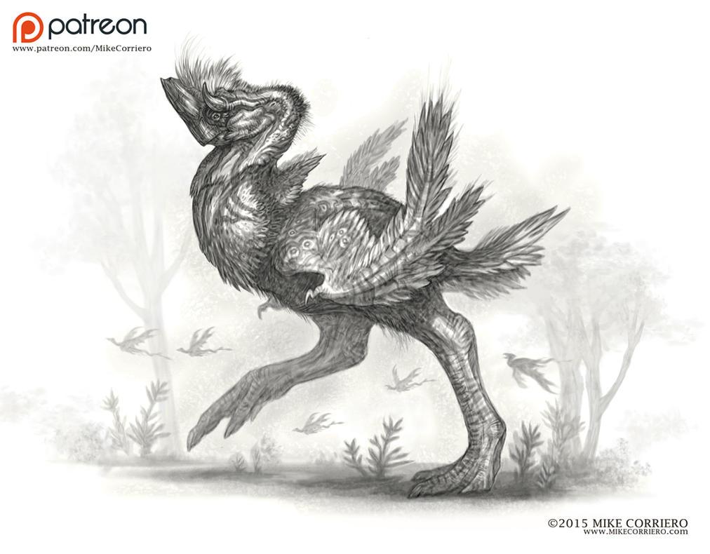 Rhinoraptor .PSD .JPG + Time Lapsed Video by MIKECORRIERO