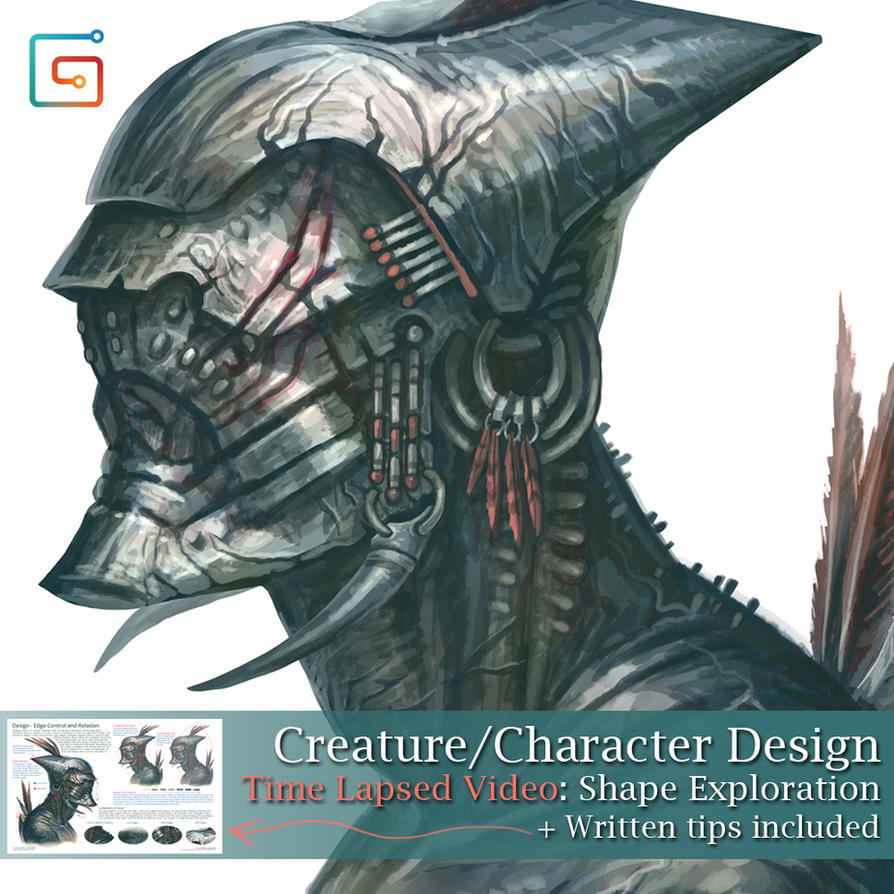 Creature/Character Design Tutorial (Gumroad) by MIKECORRIERO