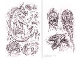 02 Art Book doodles by MIKECORRIERO