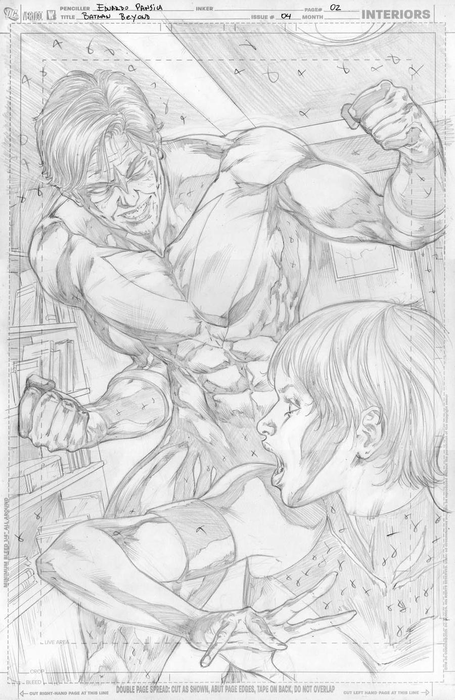 Batman Beyond 04_ page 02 by pansica