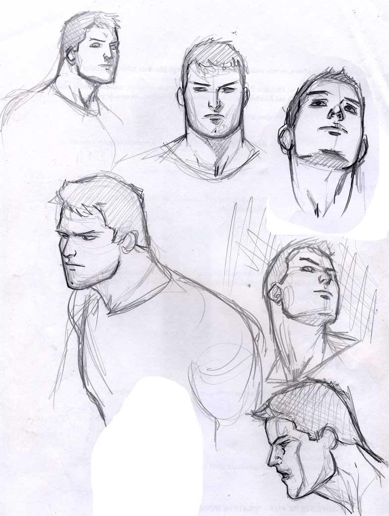 Superboy sketch by pansica
