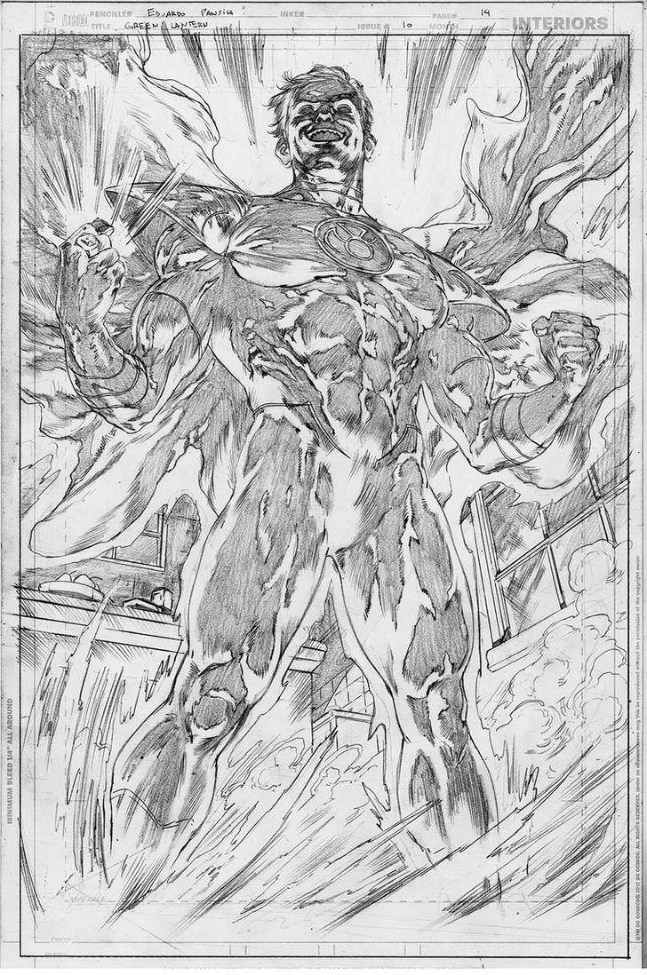 GreenLantern#10 page 14 by pansica