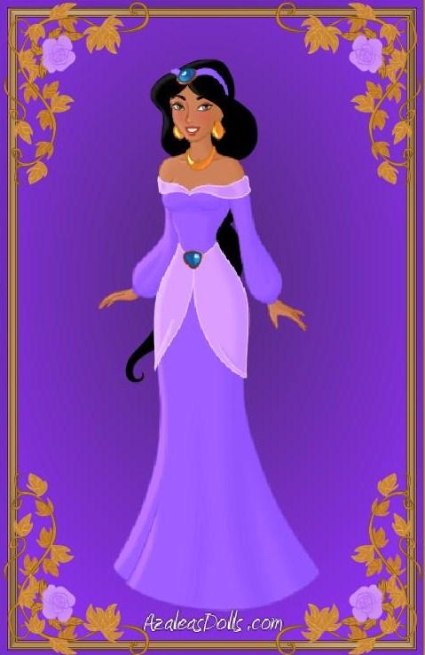 Jasmine james purple