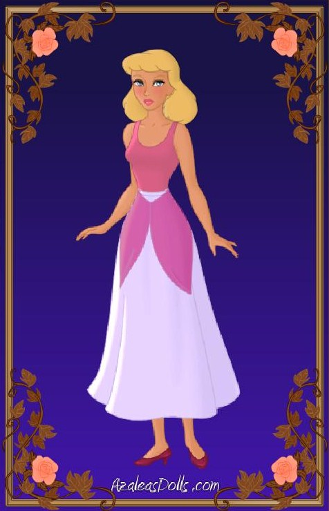Cinderella - Pink Dress 2 by IndyGirl89 on DeviantArt