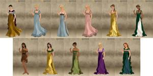 Disney Princesses - Roman Lady