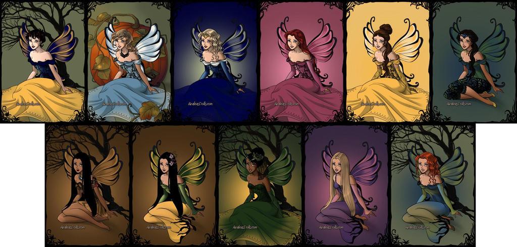 Disney Princesses - Dark Fairy