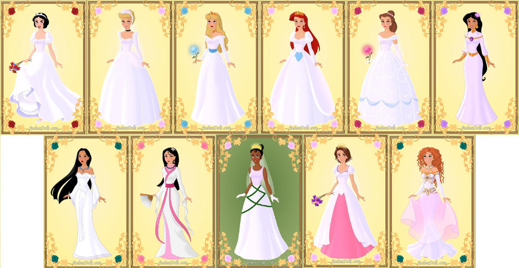 Disney Princess Wedding Dresses Tumblr