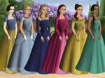 Disney Princesses - Tudor (Pt. 1)