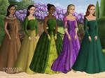 Disney Princesses - Tudor (Pt. 2)