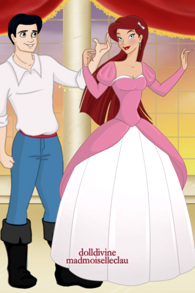 ariel and eric. Ariel and Eric  Princess Maker by IndyGirl89 on DeviantArt