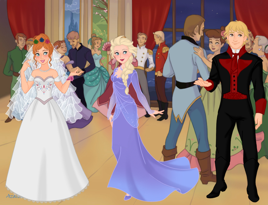 Anna and Kristoff Wedding by IndyGirl89 on DeviantArt