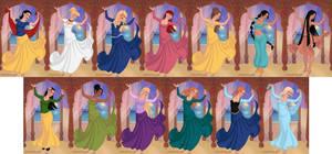 Disney Princesses - Indian Dancer