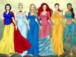 Disney Princesses - X-Girl Pt. 1
